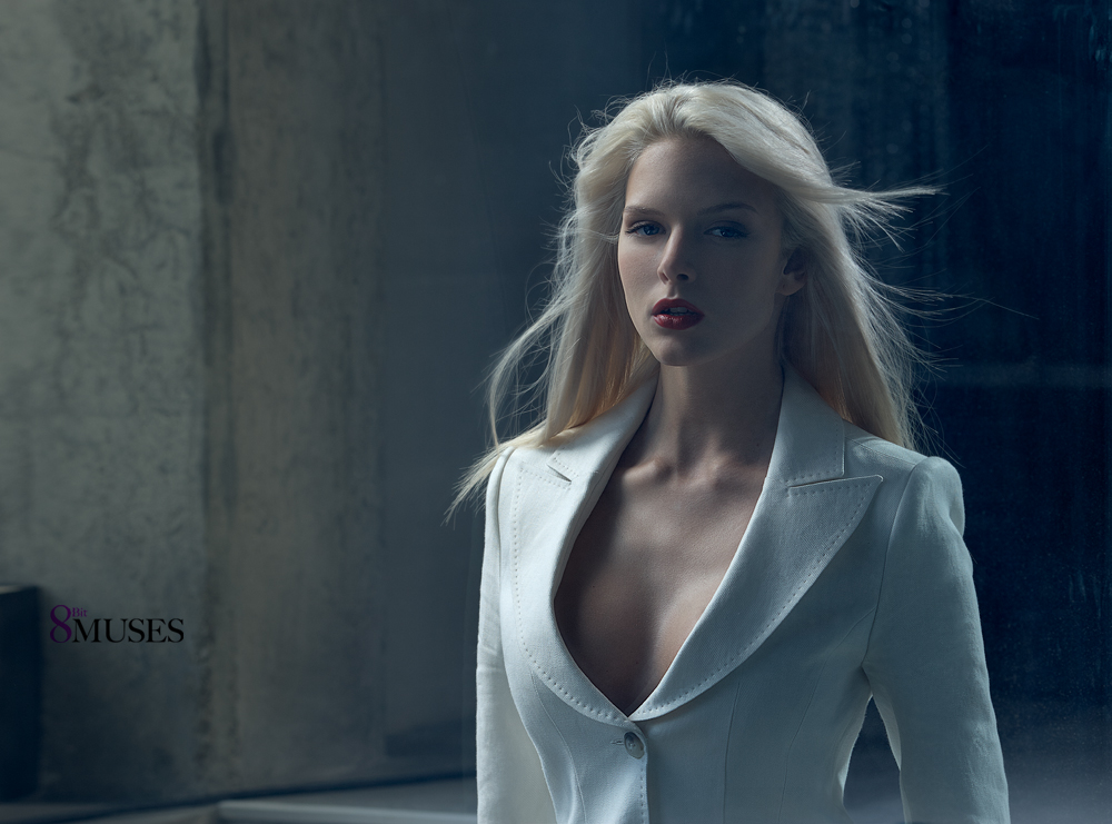 Model Karina Nedelcheva photographed by Bliss for Credo fashion label